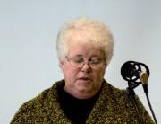 Billede af en taler for dansk ældreråd